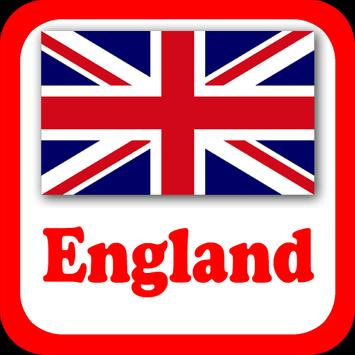 UK England Radio Stations poster