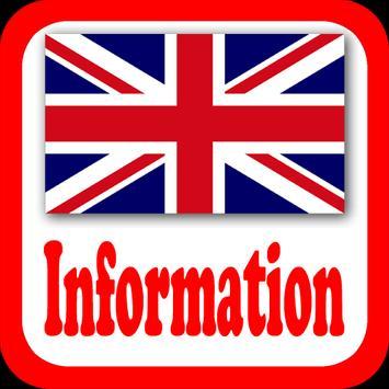 UK Information Radio Stations poster