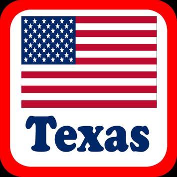 USA Texas Radio Stations poster