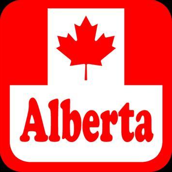 Canada Alberta Radio Stations poster