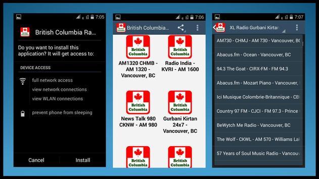 British Columbia Radio Station apk screenshot