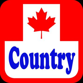 Canada Country Radio Stations poster