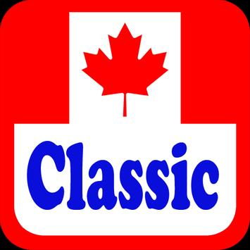 Canada Classic Radio Stations poster