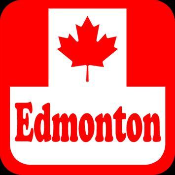Canada Edmonton Radio Stations poster
