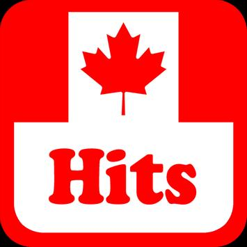 Canada Hits Radio Stations poster