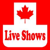 Canada Live Shows Radios icon