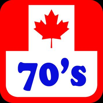Canada 70's Radio Stations poster