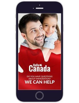 Hello Canada poster