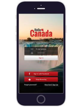 Hello Canada screenshot 1