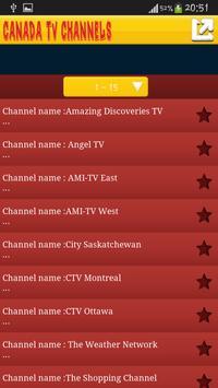 Canada Tv screenshot 2