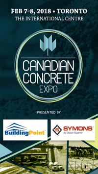 Canadian Concrete Expo 2018 poster