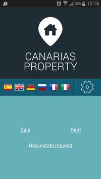 Canarias Property poster