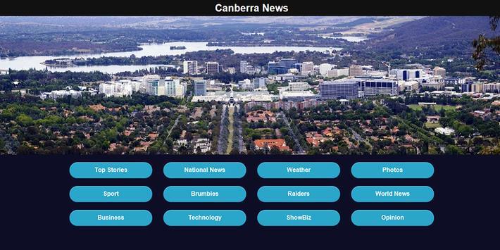 Canberra News apk screenshot