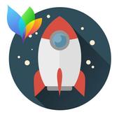 Theme XperiaCan - Cosmic Ride icon