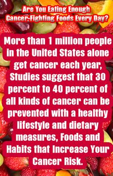 Cancer Fighting Foods poster