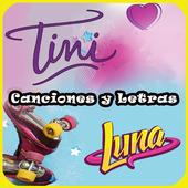 Canciones de soy luna y Tini icon