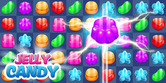 Cookie Jelly Sweet Candy apk screenshot