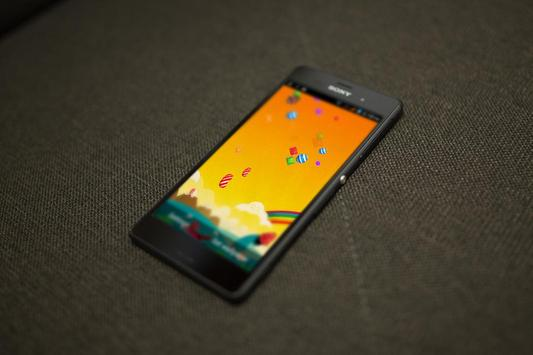 Candy Falling HD LiveWallpaper apk screenshot