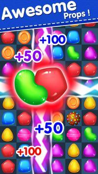 Candy Yummy - New Bears Candy Match 3 Games Free screenshot 6