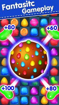 Candy Yummy - New Bears Candy Match 3 Games Free screenshot 8