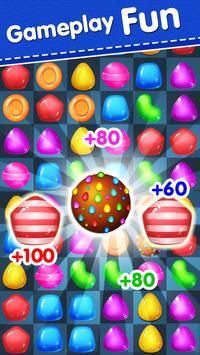 Candy Yummy - New Bears Candy Match 3 Games Free screenshot 9