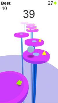 Bouncing Ball - Platform Jump screenshot 2