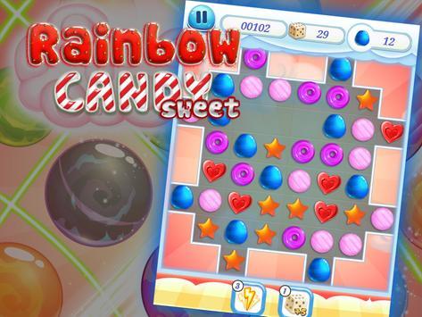 Rainbow candy sweet apk screenshot