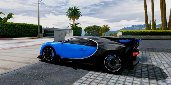 Chiron Simulator Bugatti poster