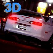 Supra Driving Toyota 3D icon