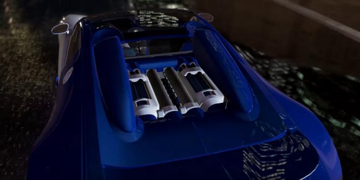 Veyron Driving Bugatti 3D screenshot 7