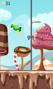 Color Flappy Candy Dunk screenshot 1