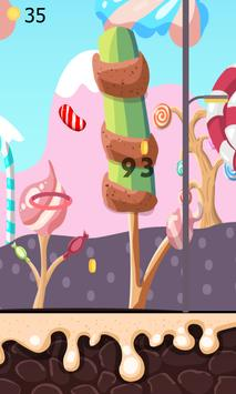 Color Flappy Candy Dunk screenshot 2