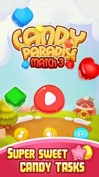 Candy Paradise Match 3 apk screenshot