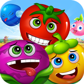 Candy Fruits 2019 - Match 3 Puzzle icon