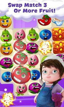 Candy Fruits 2019 - Match 3 Puzzle screenshot 1