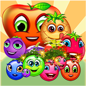 candy fruit blast match 3 game icon