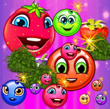 Fruit Candy Blast Match 3 Game poster