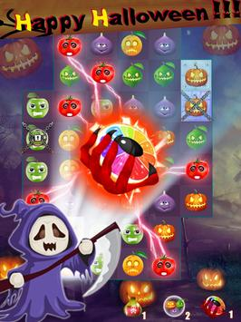 fruit halloween match 3 screenshot 6