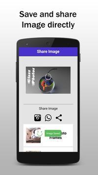 Glass Photo Frame Editor and Effects apk screenshot