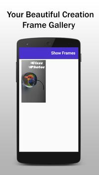Glass Photo Frame Editor and Effects screenshot 7