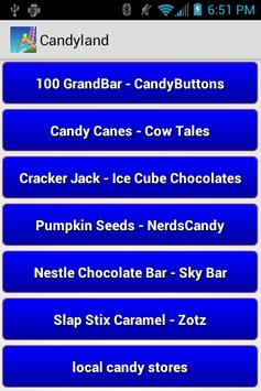 Candyland apk screenshot