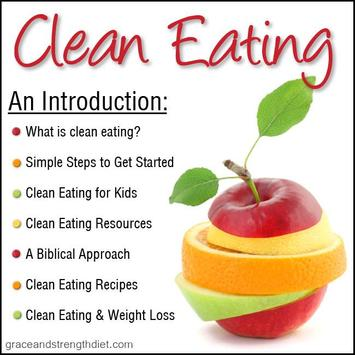 Eating Clean Tips poster