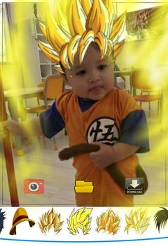 Saiyan Camera HD apk screenshot