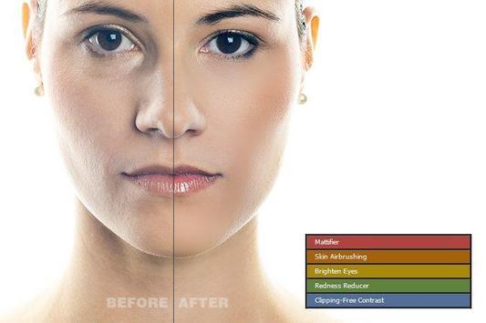 Retouch skin in Photo apk screenshot