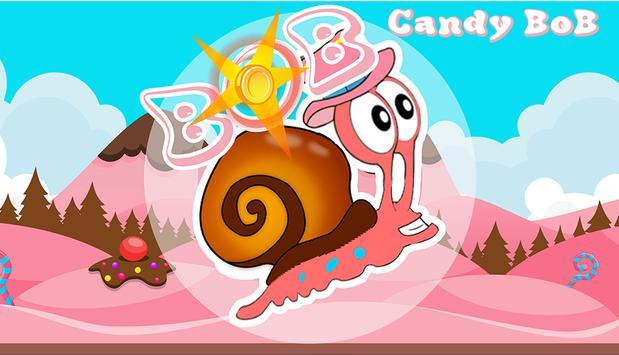 Snail. BOB Candy poster