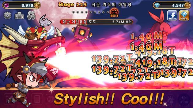 Devil Twins : Idle Clicker RPG apk screenshot