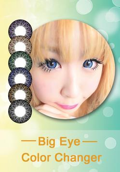 NiceEyes Big Eye Color Changer poster
