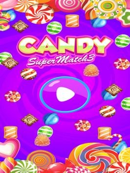 Candy Super Match 3 screenshot 1