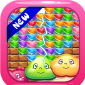 Love balls cookie game icon