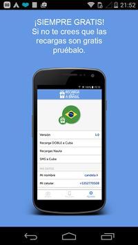 Recargas GRATUITAS a Brasil screenshot 4